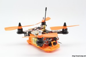 XpertDrone XD Stealth 150 Mini Quad Frame official build 1
