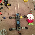 mounting-stuffed-toy-doll-on-quadcopter-camera-chopsticks