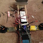 mounting-stuffed-toy-doll-on-quadcopter-servo-receiver-yaw-roll