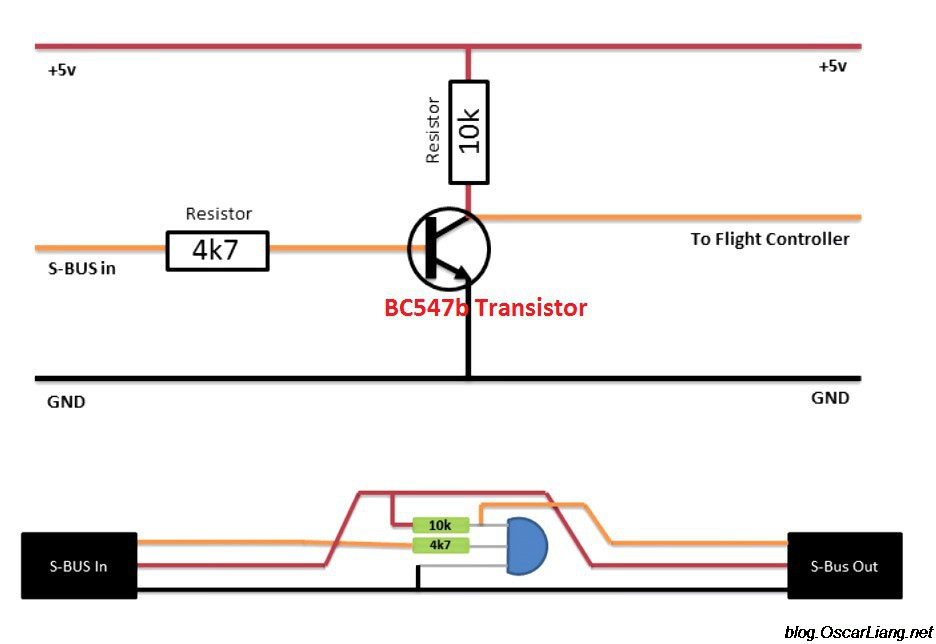 sbus inverter diagram schematics how to setup sbus, smartport telemetry oscar liang naze32 rev5 wiring diagram at beritabola.co