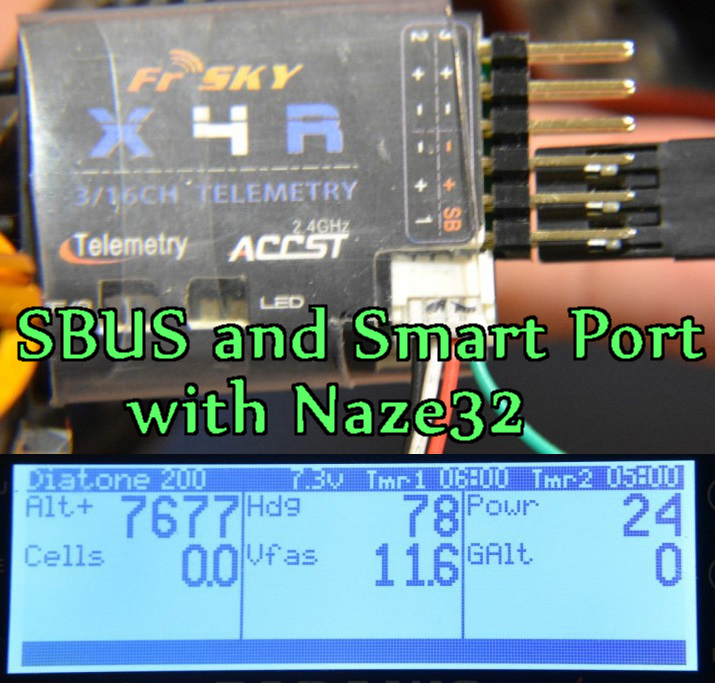 How To Setup Sbus Smartport Telemetry Oscar Liang