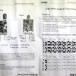 AOMWAY 5.8G 200mw Transmitter manual