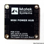 Matek Mini Power Hub PDB 2