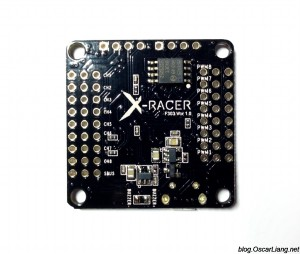 XRacer F303 flight controller bottom