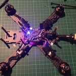liquid mini quad frame 5 build power