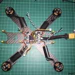 liquid mini quad frame 5 components soldered