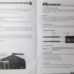 quanum i8 radio transmitter control manual 3