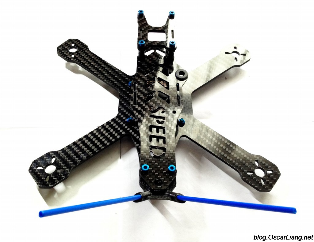 speed addict 210 mini quad frame back