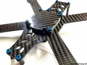 speed addict 210 mini quad frame bottom bay