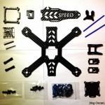 speed addict 210 mini quad frame parts