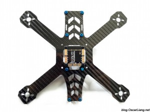 speed addict 210 mini quad frame pdb bottom