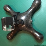 water-proof-quadcopter-gopro mount on bottom