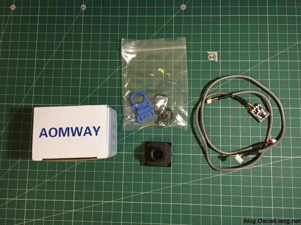 Aomway 1200TVL CCD FPV Camera package