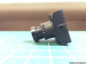 Aomway 1200TVL CCD FPV Camera side