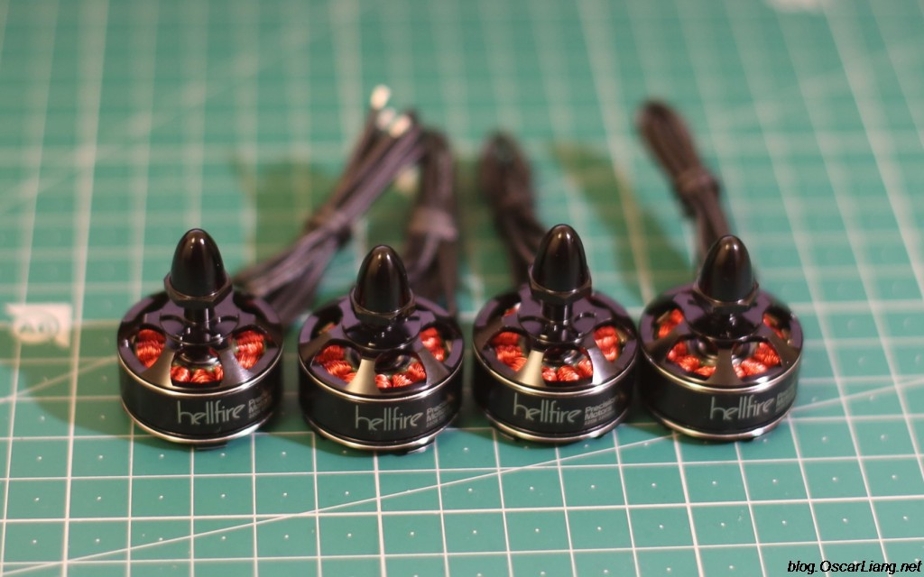 Hellfire 2206 2200KV Motor a set of four 2
