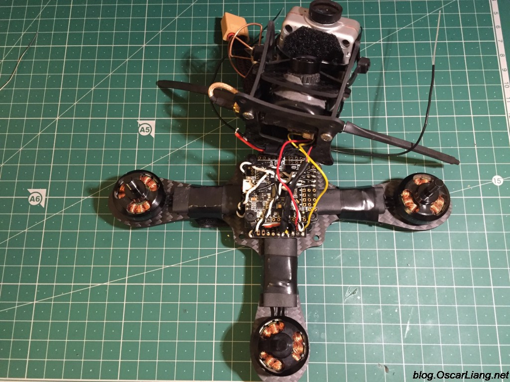Mitsuko 150 Mini Quad fpv camera vtx connect pdb