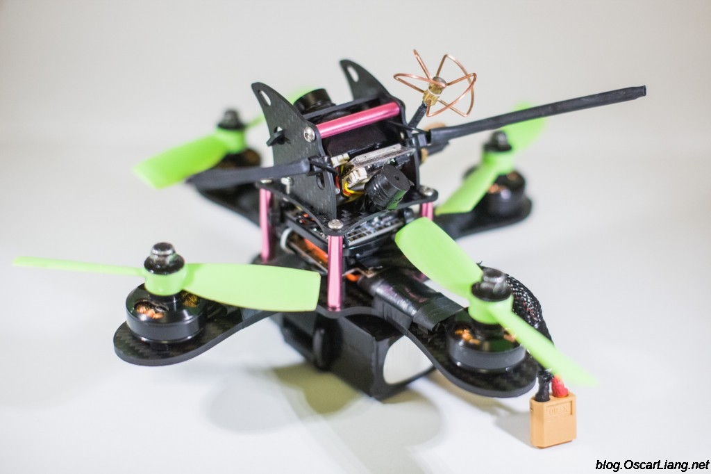 Mitsuko 150 Mini Quad frame build back