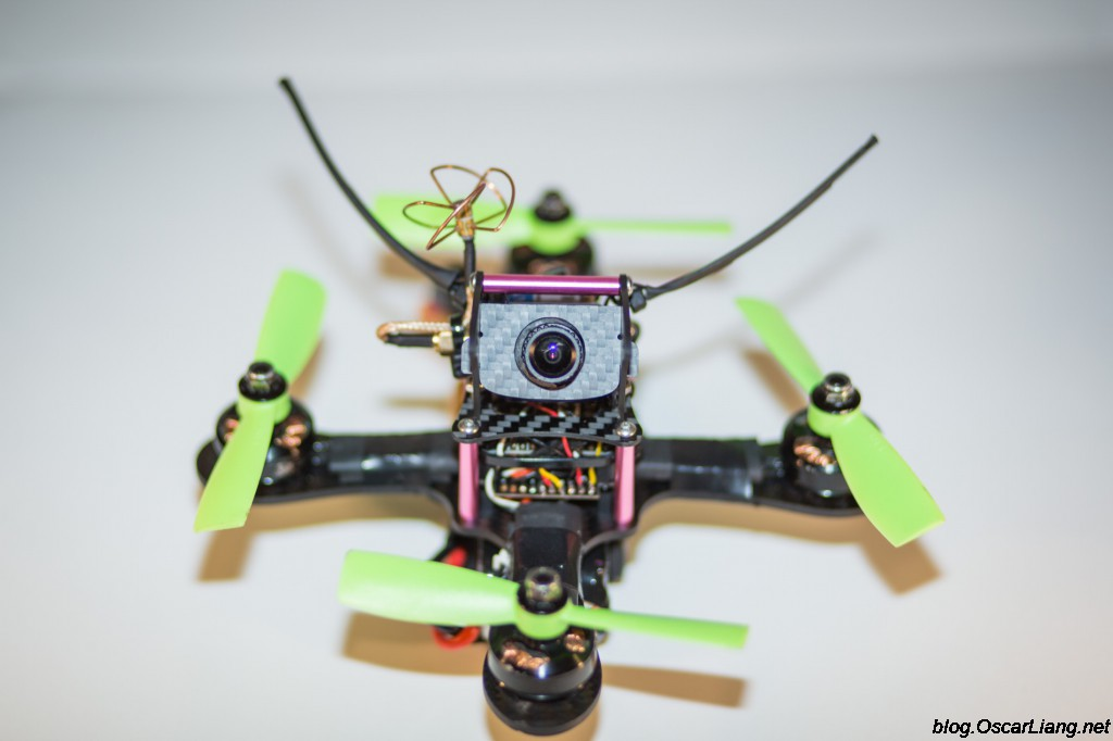 Mitsuko 150 Mini Quad frame build front