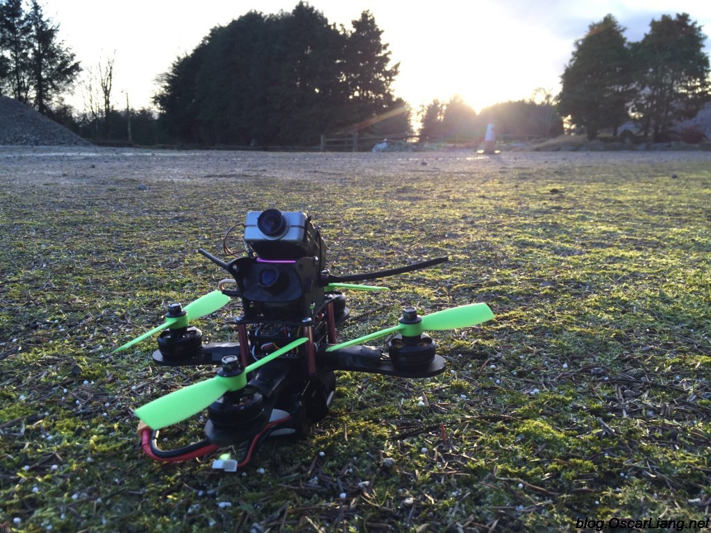 Mitsuko 150 Mini Quad frame feature