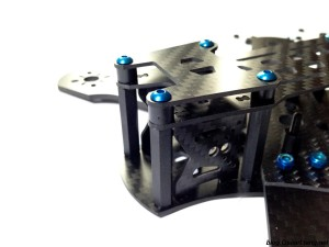 DemonRC NOX5 210 Mini Quad Frame HD camera top plate mount