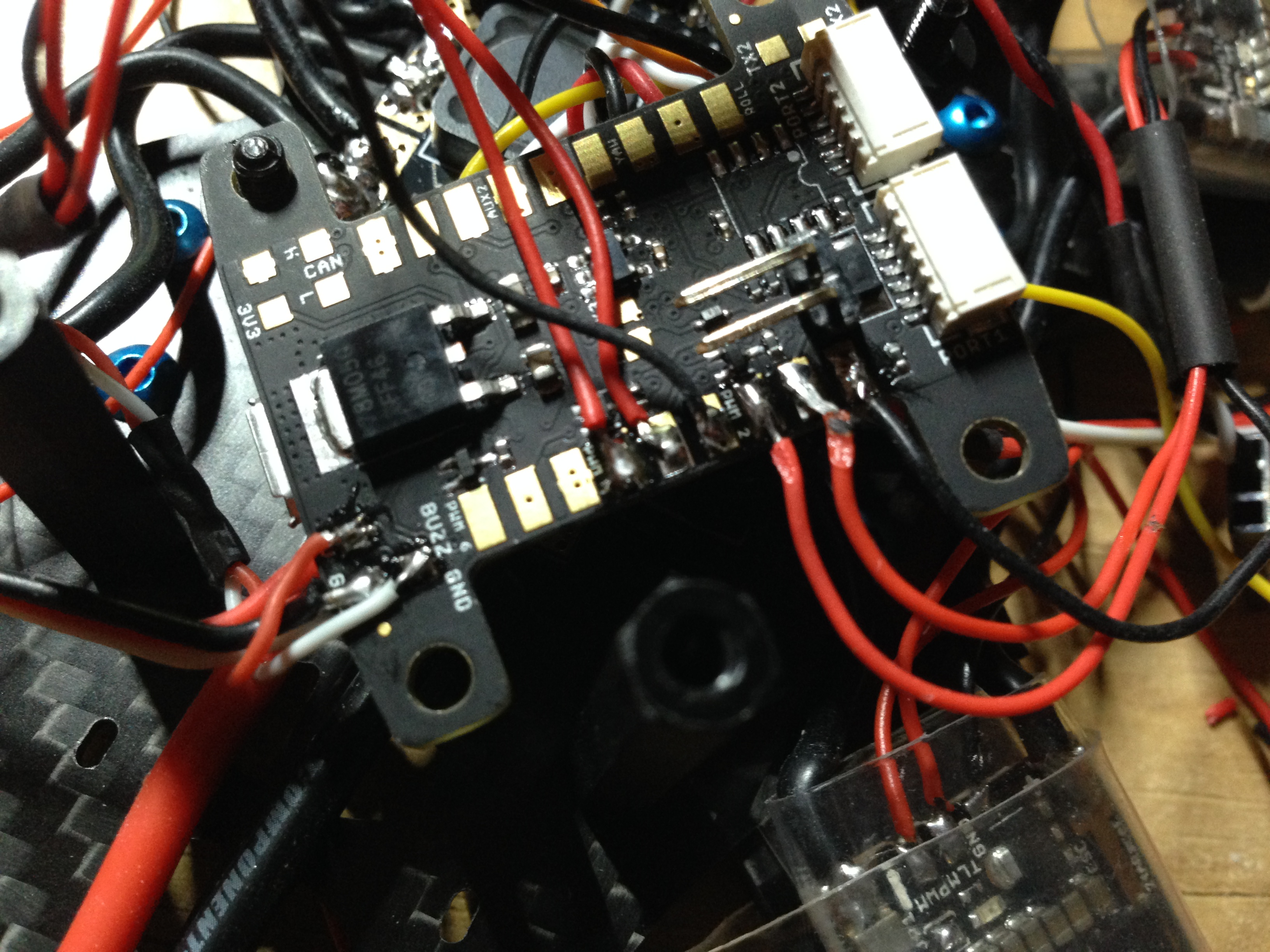 DemonRC NOX5 kiss esc signal wire on fc demonrc nox5 210 mini quad frame oscar liang Brushless ESC Wiring-Diagram at crackthecode.co