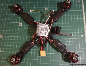 InfiniteFPV-theX-5-6-mini-quad-frame-build-fc-buzzer-xt60