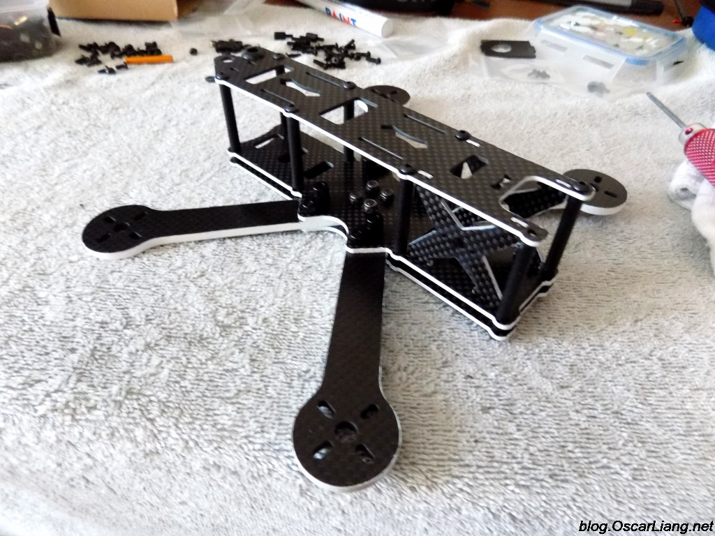 ZMR X210 Mini Quad Frame assembly