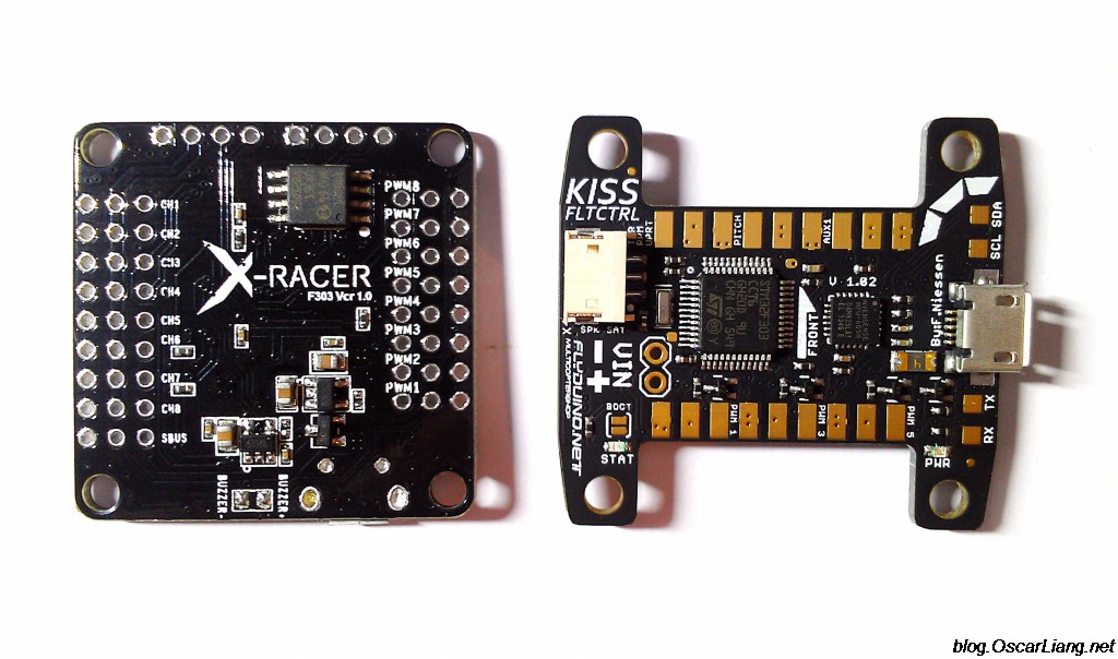 kiss fc flight controller compare to xracer f3 kiss fc flight controller review oscar liang  at n-0.co