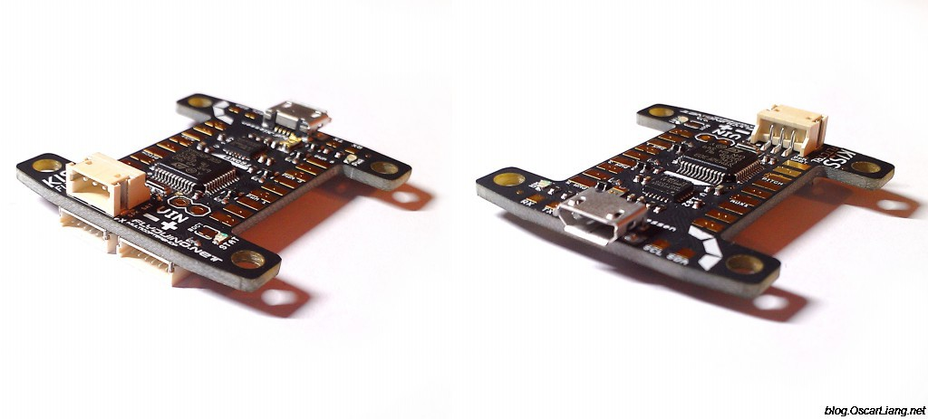 kiss fc flight controller side connectors