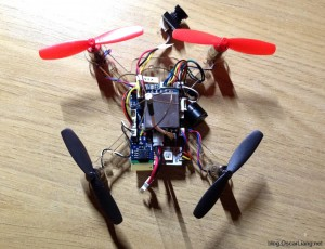 multiFlite NANO-B-FC Flight Controller micro quad component connection