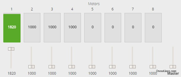 Achieving Linear Throttle Response - Motor Top End Calibration_Calibrating_Max