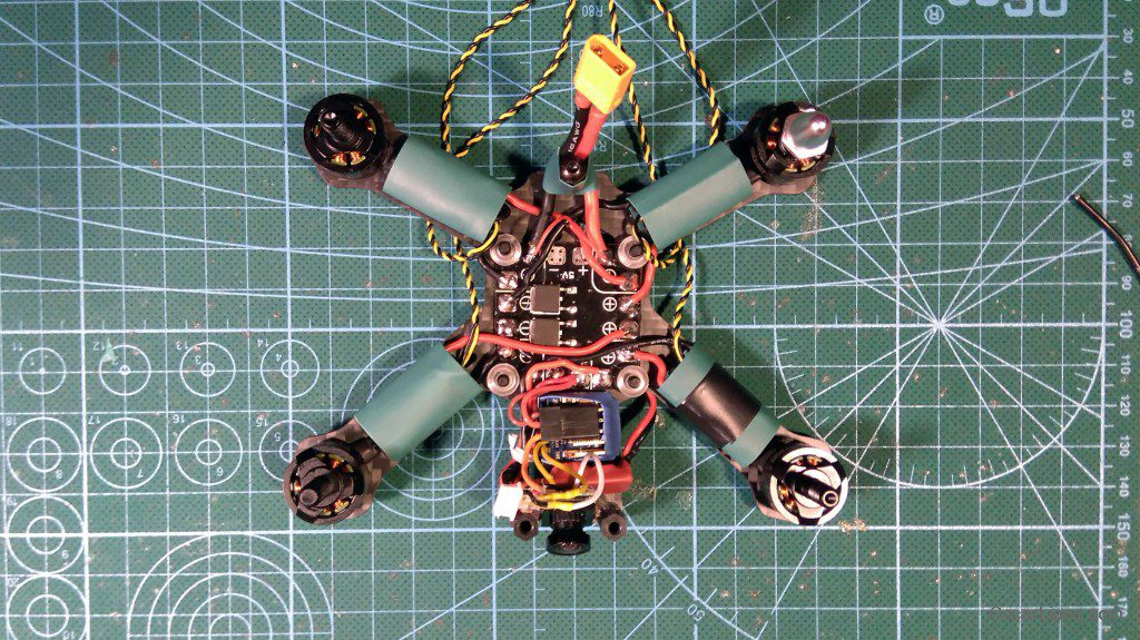 Airblade Assault 130 build camera minimosd osd