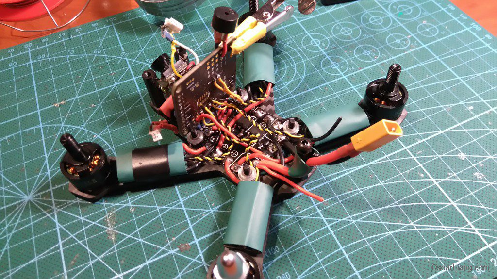 Airblade Assault 130 build flight controller fc buzzer