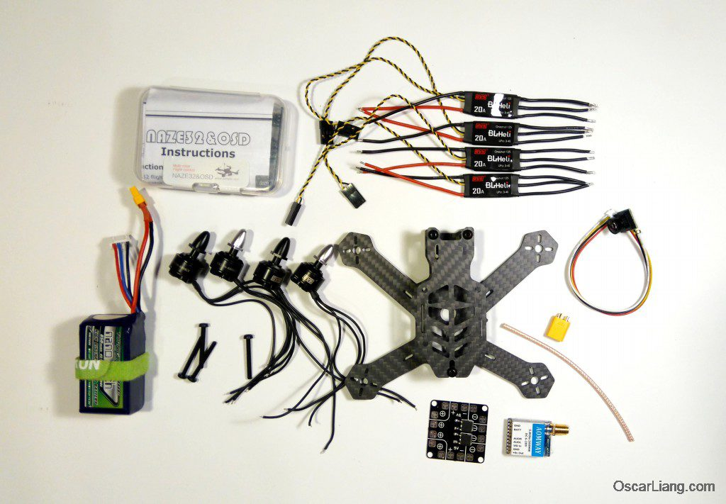 Airblade Assault 130 frame build parts motor esc battery