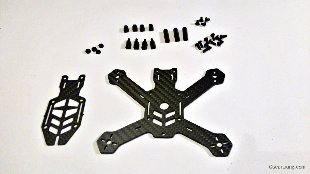 Airblade Assault 130 frame kit parts
