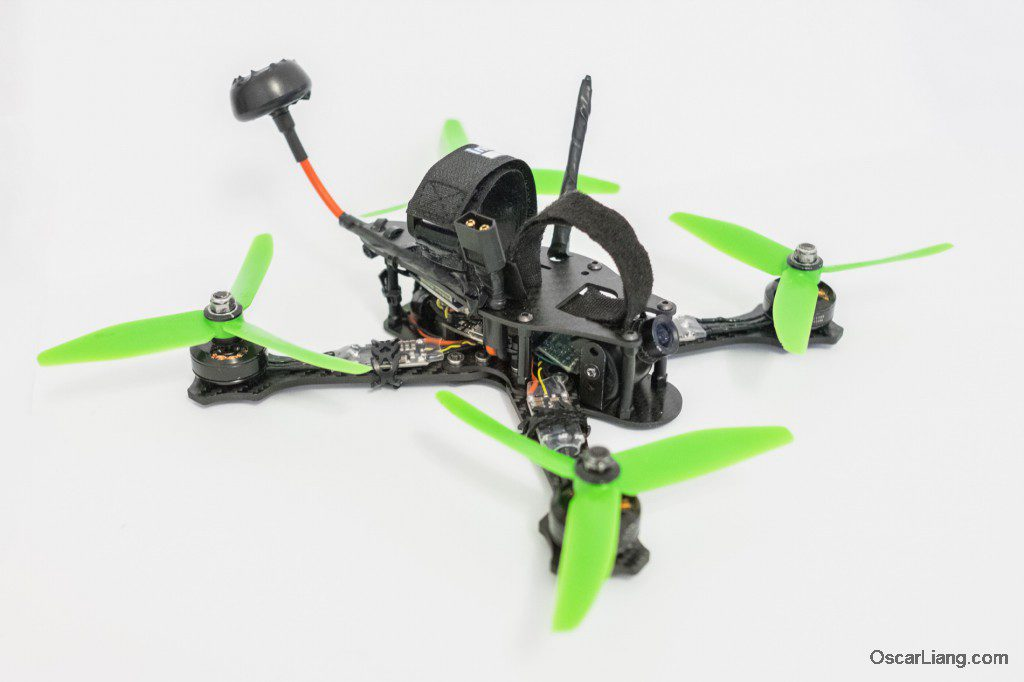 Rotoracer RR210 mini quad Frame build without battery hd camera