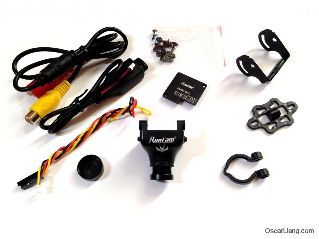 runcam swift fpv camera package unbox