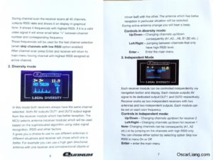 Quanum FPV Diversity Receiver manual 3