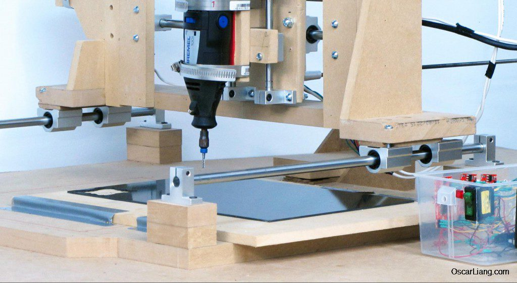DIY Budget CNC Machine for cutting