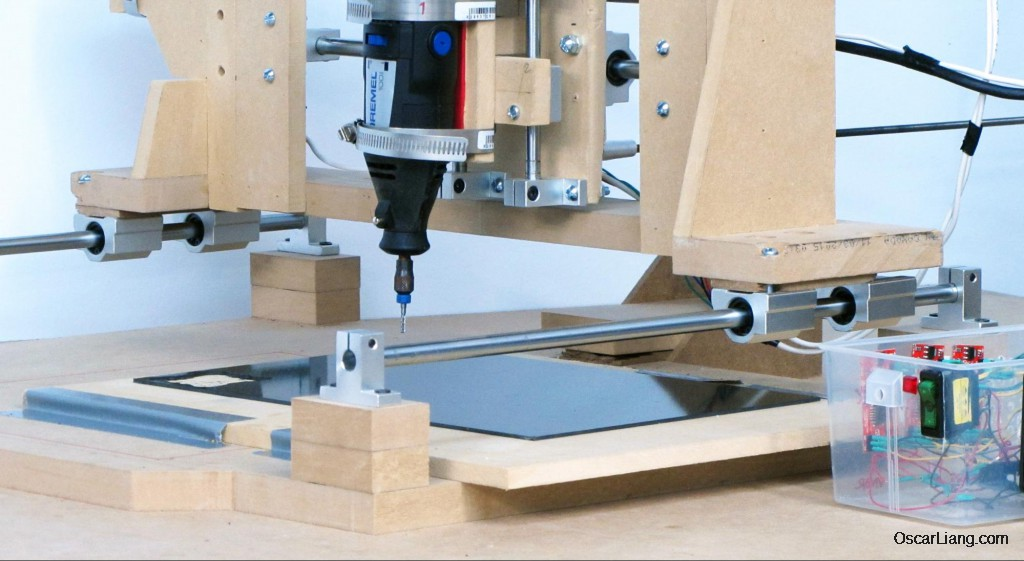 Diy Budget Cnc Machine For Cutting Multirotor Frames And