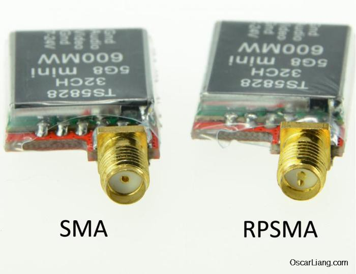 vtx antenna connector sma rpsma