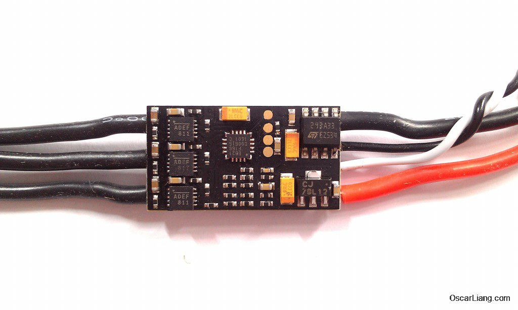 Aikon SEFM 30A ESC top mcu processor