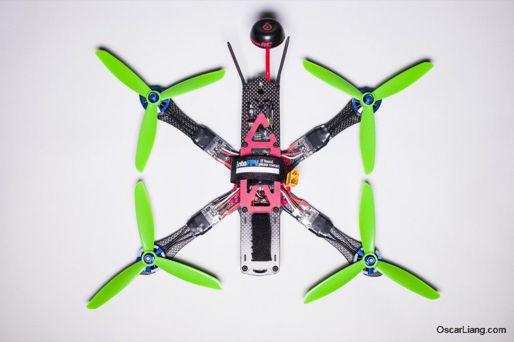 Alien 6 Mini Quad Frame Build_03