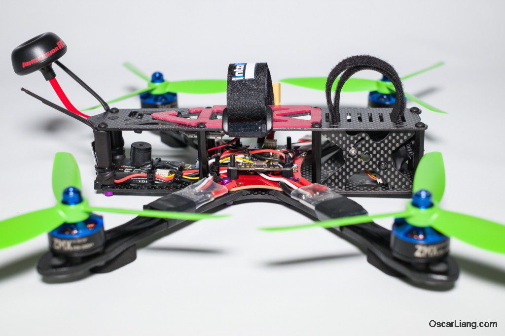 Alien 6 Mini Quad Frame Build_08