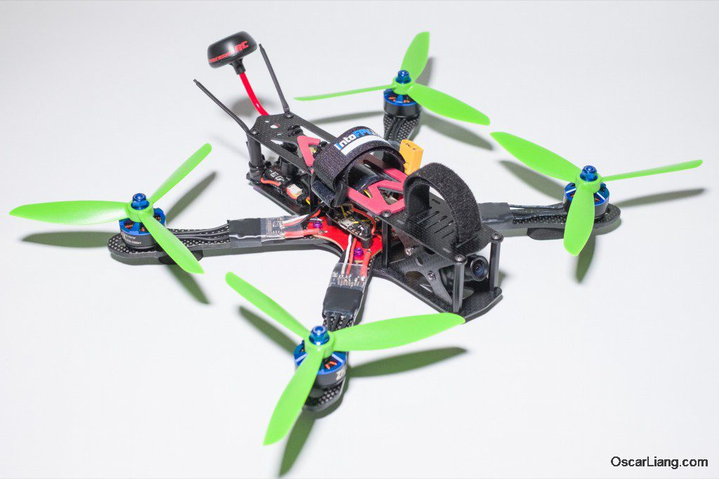 Alien 6 Mini Quad Frame Build_23