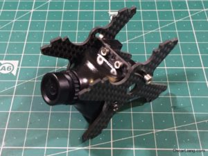 Alien 6 Mini Quad Frame FPV camera mount