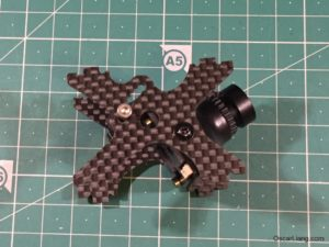 Alien 6 Mini Quad Frame fpv camera mount angle holes
