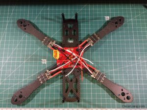 Alien 6 Mini Quad build 01 esc pdb
