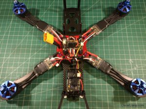 Alien 6 Mini Quad build 18 rx x4r sb receiver