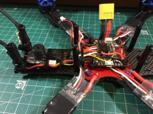 Alien 6 Mini Quad build 19